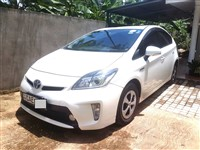Toyota Prius 3rd Gen Car for Rent as low as Rs3600 per day